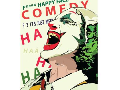 joker design illustration digita