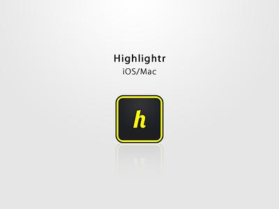 Highlightr [Light] app ui light highlightr