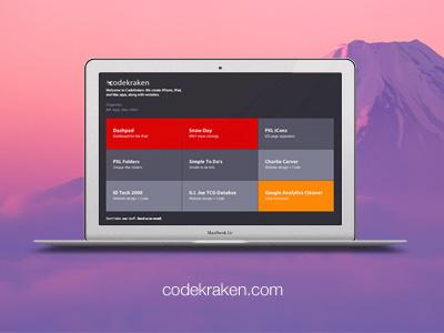 Codekraken website codekraken html css web design