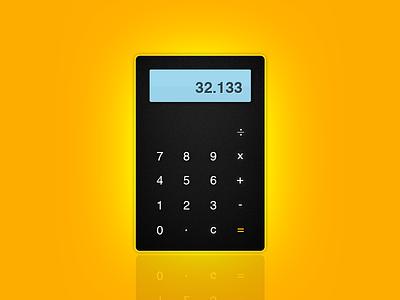 Calculator Widget dashpad widget