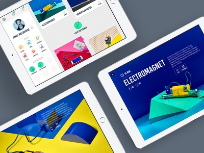 Makeree - A new way to learn creation product maker branding gamification gaming ios ipad design ui ux