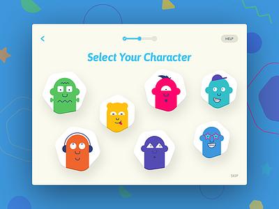 SmART Sketcher - Avatar mobile interface icons flat tablet app app iot photo kids ui design character illustrations profile pic avatar ui tablet