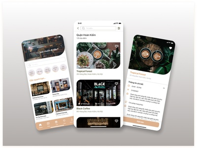 REVIEW COFFEE SHOP & RESERVATIONS relax book shop chill coffee branding login home ux visual ui design