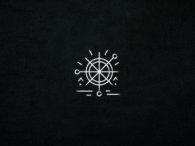 Flash — Horizon symbol design symbol icon tattoo artist tattoo design tattoo flash design identity illustration