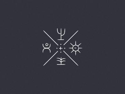Flash — Ethnic primitive ethnic vector minimalist travel sketch design identity branding illustration