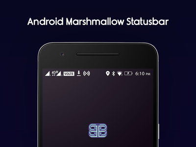 Android Marshmallow Status Bar Icons by Bharath Selvaraj ...