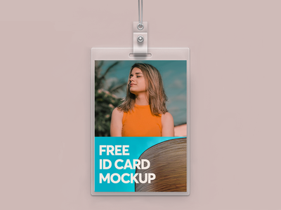 Free ID Card Mockup free event branding id card free mockup freebie psd branding mockup design