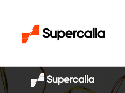 Supercalla (proposal) cable s geometric simple letter concept logo