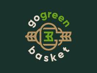 Go Green Basket - logo proposal