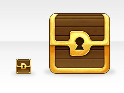 Destiny Icon - Desktop and Full Size treasure chest gold ico icon wood