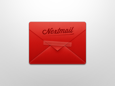 Nextmail Clip Art mail email icon envelope letter tape crisp clip art red letter sticky tape