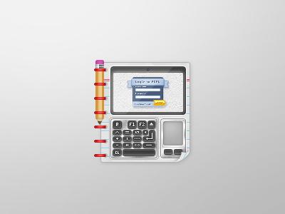 REAL Clip Art crisp icon pencil binder notebook keyboard trackpad screen webcam real lms clip art