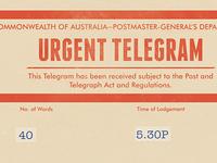 Save The Date Telegram