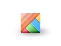 Learning Integration Matrix Icon