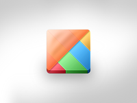 Learning Integration Matrix Icon Variant
