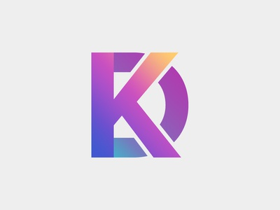 Team Slack Icon d k blue teal yellow purple colorful icon slack gradient