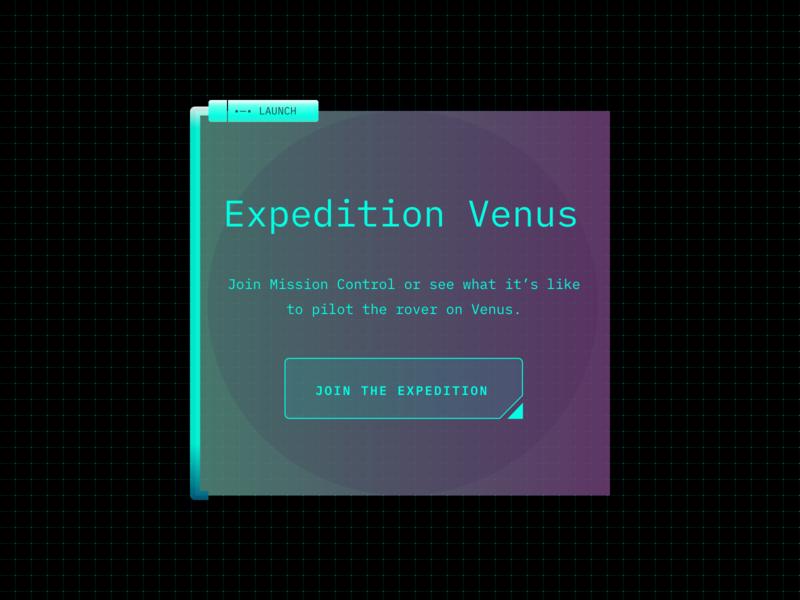 Landing Page UI ui design futuristic purple green gradient ui future space