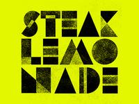 Steak + Lemonade