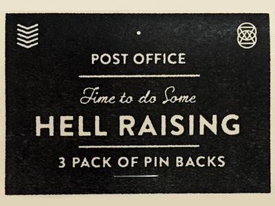 3 Pack of Pin Backs
