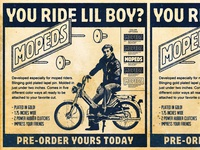 Pin Preorder Mopeds!