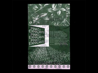 Pinko / Exhalants Tour Poster