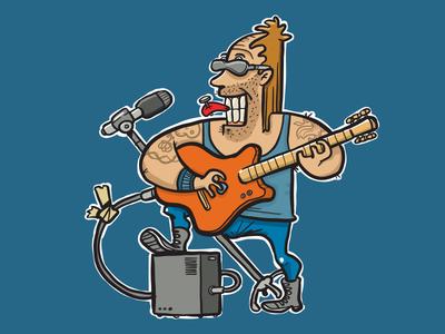 Lollapalooza adobeillustrator vector illustration music