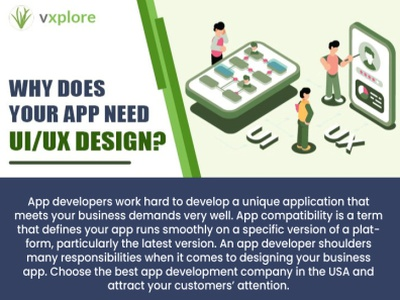 Why Does Your App Need UI/UX Design? mobile app development company mobile app development mobile app developers mobile app company mobile app builder android mobile app development android app development company android app developer app development company