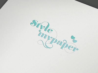 Style My Paper style paper wedding heart