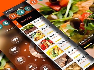 Snackiz Food App food eating cook snack recipes kitchen cuisine beef chicken egg fastfood meat