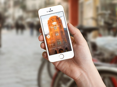 Uni Pocket shool student admin login university pupil ux mobile app ui