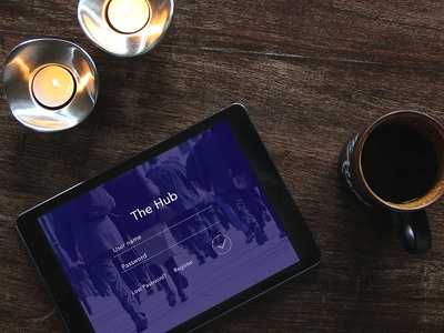 The Hub financy buy accountant marketing business ui sale ux mobile app ipad design