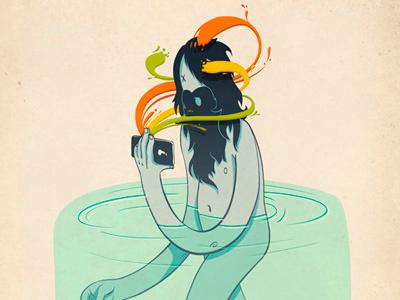 Movil Dribble illustration ilustración drawing dibujo colour mobile movil