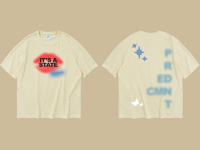 Creme Tee – Design 1 original creative simple minimalistic unique aesthetic color design fashion design branding apparel