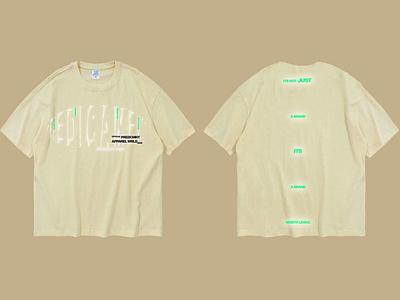 Creme Tee – Design 2 simple unique original minimalistic creative aesthetic color design fashion design branding apparel