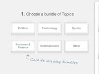 Bundles of Topics