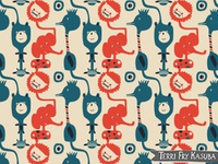 Animals at the Zoo Baby Pattern