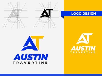 AT logo Design best logo design illustrator logotype logomark minimal logoes branding design brand identity logos branding graphic design logo design logo