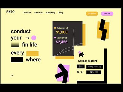 Simple Landing page (copied) dailyui ui ux design