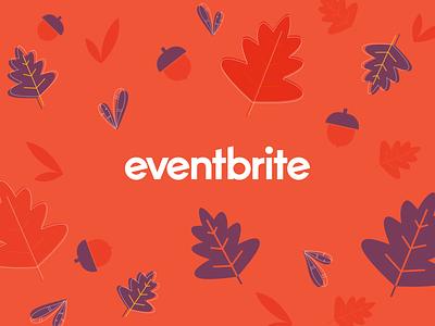 Leaves Pattern thanksgiving pattern leave orange digital illustration eventbrite