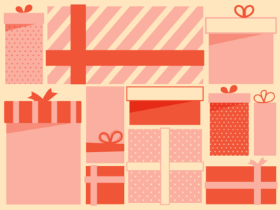 Tons of presents
