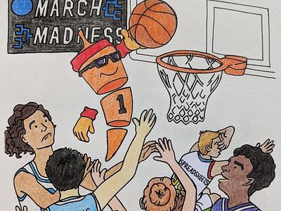March Madness Chili Piper design logo branding illustration
