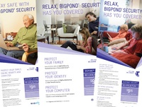 Telstra BigPond Security Ads