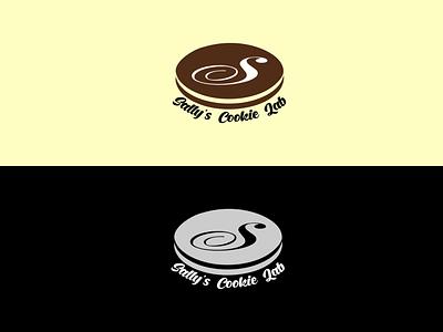 Sally's Cookie Lab Logo ideographix graphify inkscape illustration graphic design vector logo icon flatminimalist design branding