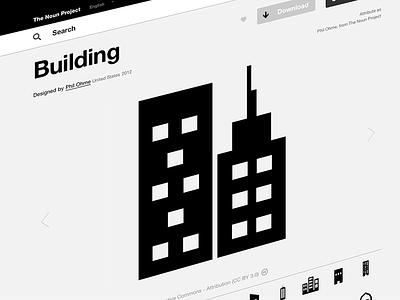 Buildings Icon on The Noun Project icon noun nounproject thenounproject vector symbol building business corporate company tower skyscraper