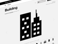 Buildings Icon on The Noun Project