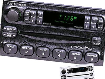 Ford MachMP3 automobile car dash mp3 player mp3 hardware dashboard audio