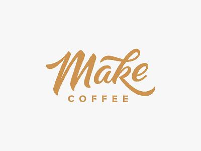 Make Coffee Logo coffee shop logo coffee logo designer logotype cafe coffee shop make logo
