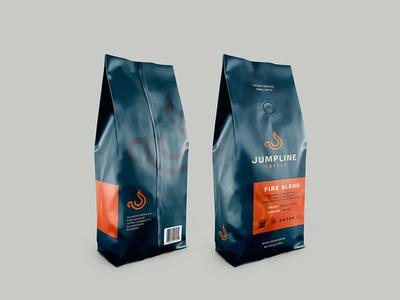 Jumpline Coffee Packaging Design design logodesign coffee packaging design