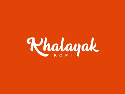 Khalayak Kopi logodesign handlettering design type typography lettering logotype logo branding brand coffee shop coffee