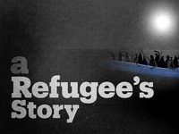 """A Refugee's Story"" Thumbnail for Social Media"